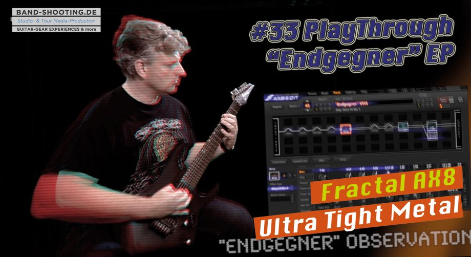 "#33 Playthrough ""Endgegner"" – Free Download FRACTAL AUDIO AX8 PRESET"